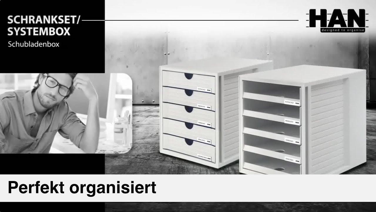 Han Schubladenboxen Schrank Set Und System Box Youtube