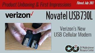 Verizon Novatel USB730L - USB Cellular Modem | Product Unboxing