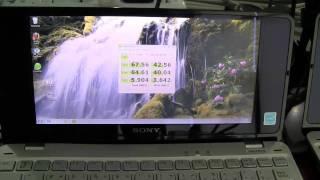 Runcore SSD vs Sony Vaio P SSD vs Vaio P HDD