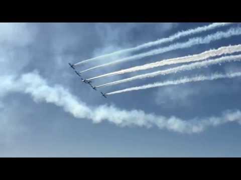 West Coast Ravens 8-ship airshow 2014-2015