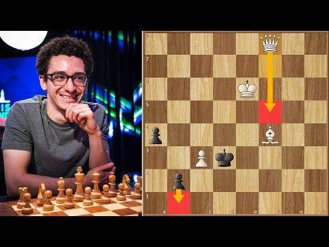 You Snooze, You Lose   Caruana Vs Mamedyarov   St. Louis Rapid (2018)