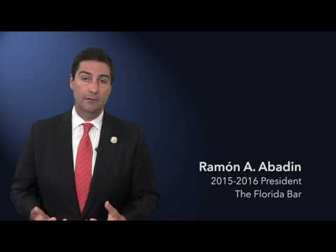 Florida Bar President Ray Abadin presents:
