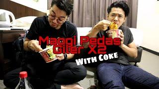 Mukbang feat. Haiqal Trollala: Ghost Pepper VS Pedas Giler X2 + Air Coke
