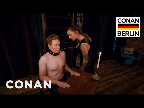 Conan Submits To A Dominatrix  - CONAN on TBS