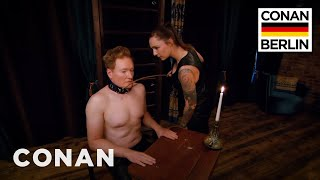 Download Video Conan Submits To A Dominatrix  - CONAN on TBS MP3 3GP MP4
