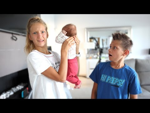 24 Hours With Our Baby Sister!