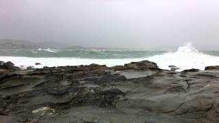 Wild weather at Terrigal Haven