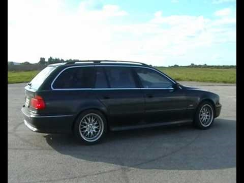 bmw e39 540i touring v8 sound youtube. Black Bedroom Furniture Sets. Home Design Ideas