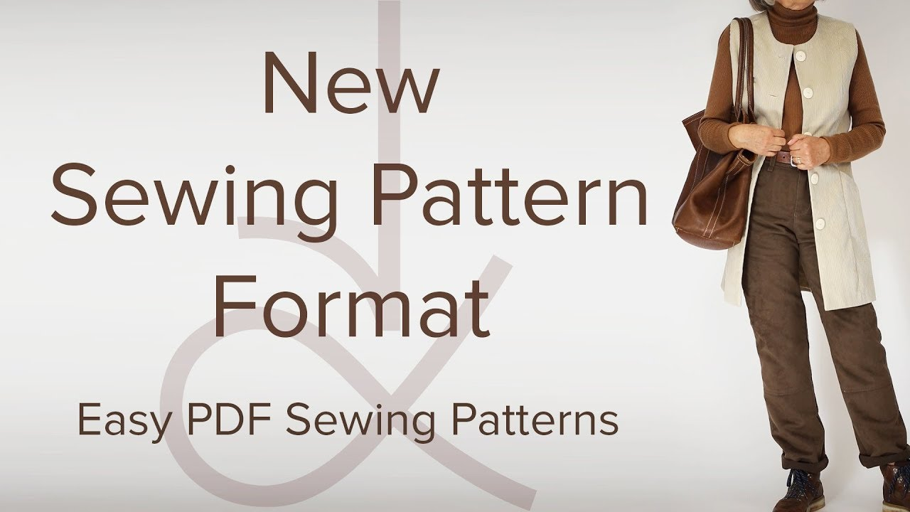 AK Sewing for Beginners - New Sewing Pattern Format - YouTube