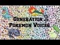 Pokemon | All Generation 2 Pokemon Voices/Impressions/Cries