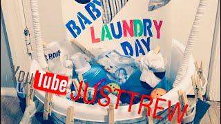 DIY Baby Laundry Day Gift