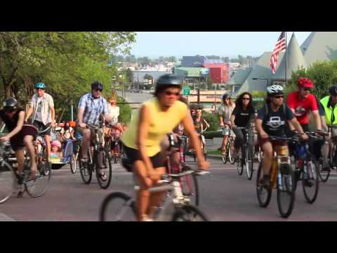 "Duluth Bicycle Coalition hosts ""Bike Ride for a Superior Street for All"""