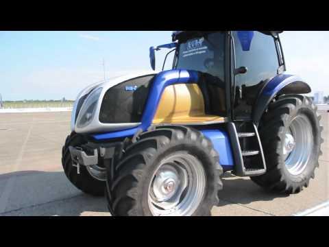 Wasserstoff Traktor Nh2 Von New Holland