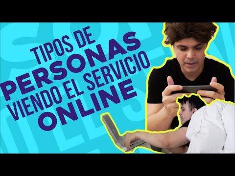 Tipos de Personas Viendo un Servicio Online