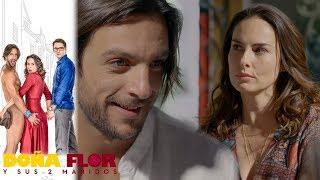 Doña Flor y sus 2 maridos - Capítulo 49: ¿Flor comienza a creer en fantasmas? | Televisa