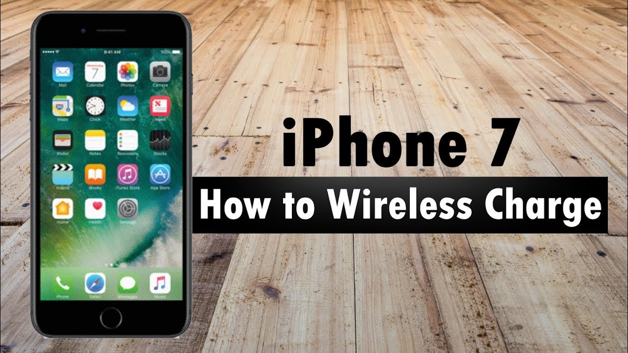 Iphone 7 Induktion Iphone 7 Plus Wireless Charging