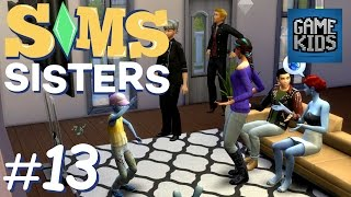 The Girls Throw A Party - Sims Sisters Episode 13