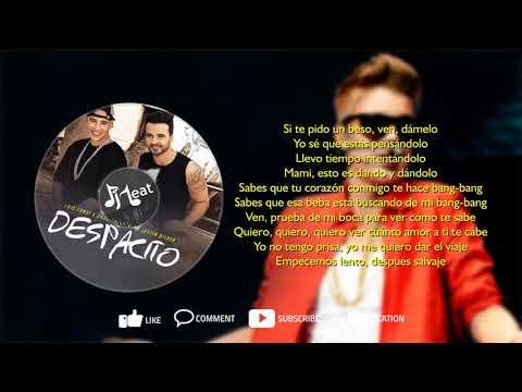 Despacito (Remix) Ft. Justin Bieber (djbeat Lyrics English Translation)