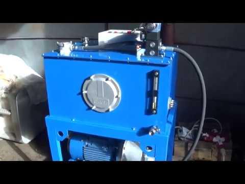 Маслостанция с подачей 55 л/мин и давлением 150 бар
