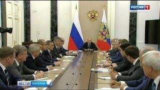 Владимир Путин сегодня встретился с вновь избранными руководителями российских регионов