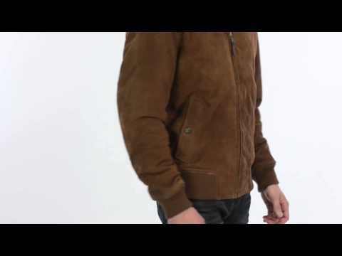 Golden Bear The Fremont Jacket - Goatskin Suede (For Men)