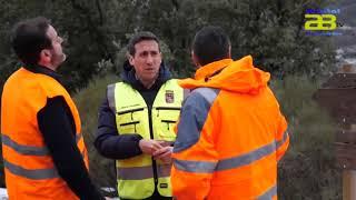 Diputación restablece el tráfico en las carreteras afectadas por la nieve de la Borrasca Gloria