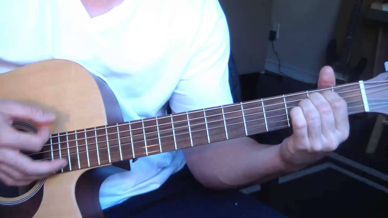 Toby Keith I Love This Bar Guitar Lesson Correct Version