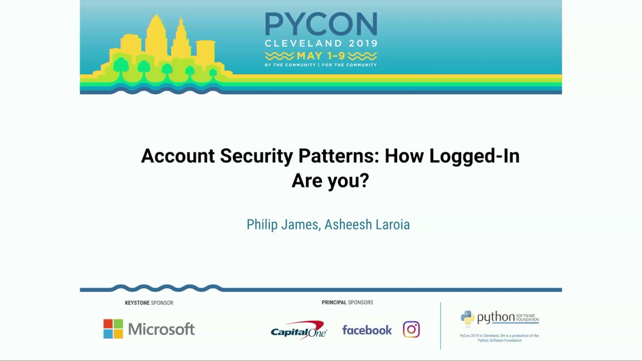 Image from Account Security Patterns: How Logged-In Are you?