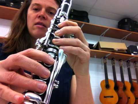 Ab Major 2 Octave Scale Tutorial for Bb Clarinet