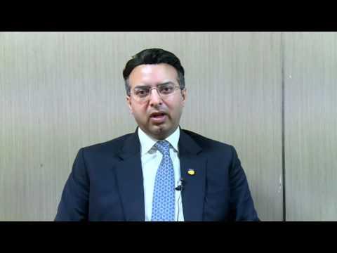 Dr.Atul Chauhan talks about CII School of Logistics