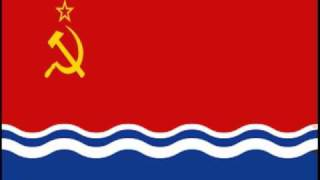 Flag of the Latvian Soviet Socialist Republic (1940-1991)