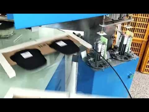 label hot ironing machine for shoes tongue