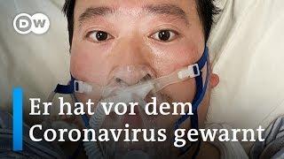 Tod vom Coronavirus-Arzt setzt Chinas Xi Jinping unter Druck | DW Nachrichten