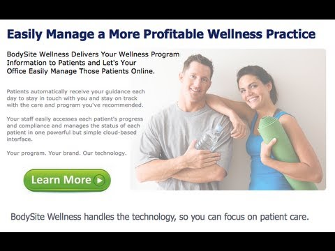 BodySite Demo - Learn How to To Make Your Wellness Practice More Effective, Efficient and Profitable