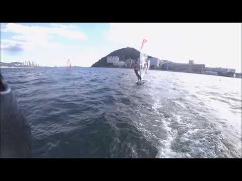 Windsurfing at Korea Maritime and Ocean University