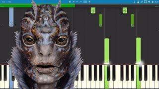 The Shape Of Water Piano Tutorial - Alexandre Desplat - OST