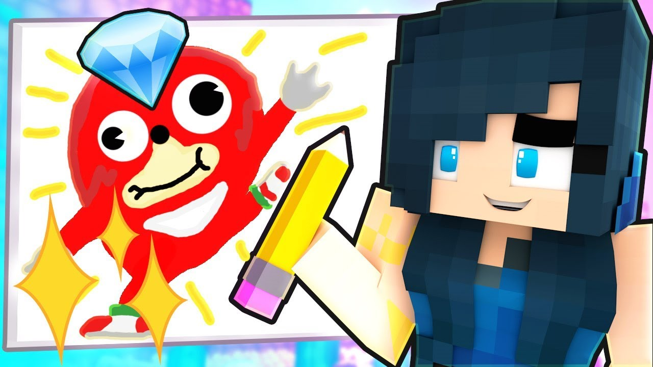 GUESS THE DRAWING IN MINECRAFT! - YouTube