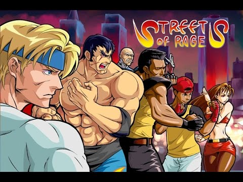 Streets of Rage Remake 5.1 PC 720P HD Playthrough - ROUTE 2