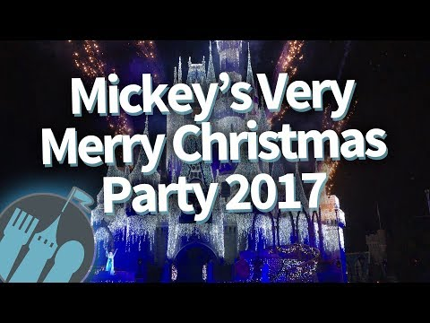 Disney Worlds Mickeys Very Merry Christmas Party 2017: EVERYTHING You Need to Know!