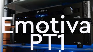 Emotiva PT1 Preamp and A2 Power Amp Review - Mic Drop