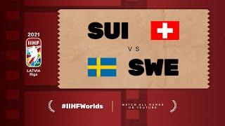 Highlights: SWITZERLAND vs SWEDEN | 2021 #IIHFWorlds