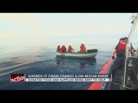 Cuban immigrants facing humanitarian crisis near U.S. border, Tampa helping out