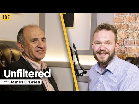 Armando Iannucci interview on Alan Partridge, Thick of It & Veep | Unfiltered James O'Brien #4