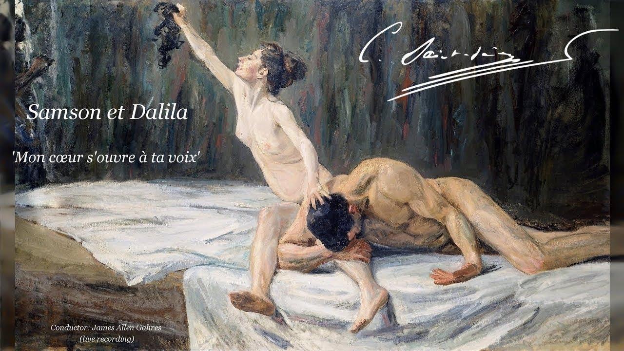 C. Saint-Saëns - Samson et Dalila 'Mon cœur s'ouvre à ta voix' - James Allen Gähres,