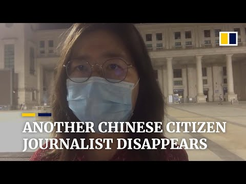 Coronavirus: Chinese citizen journalist detained after live-streaming from Wuhan