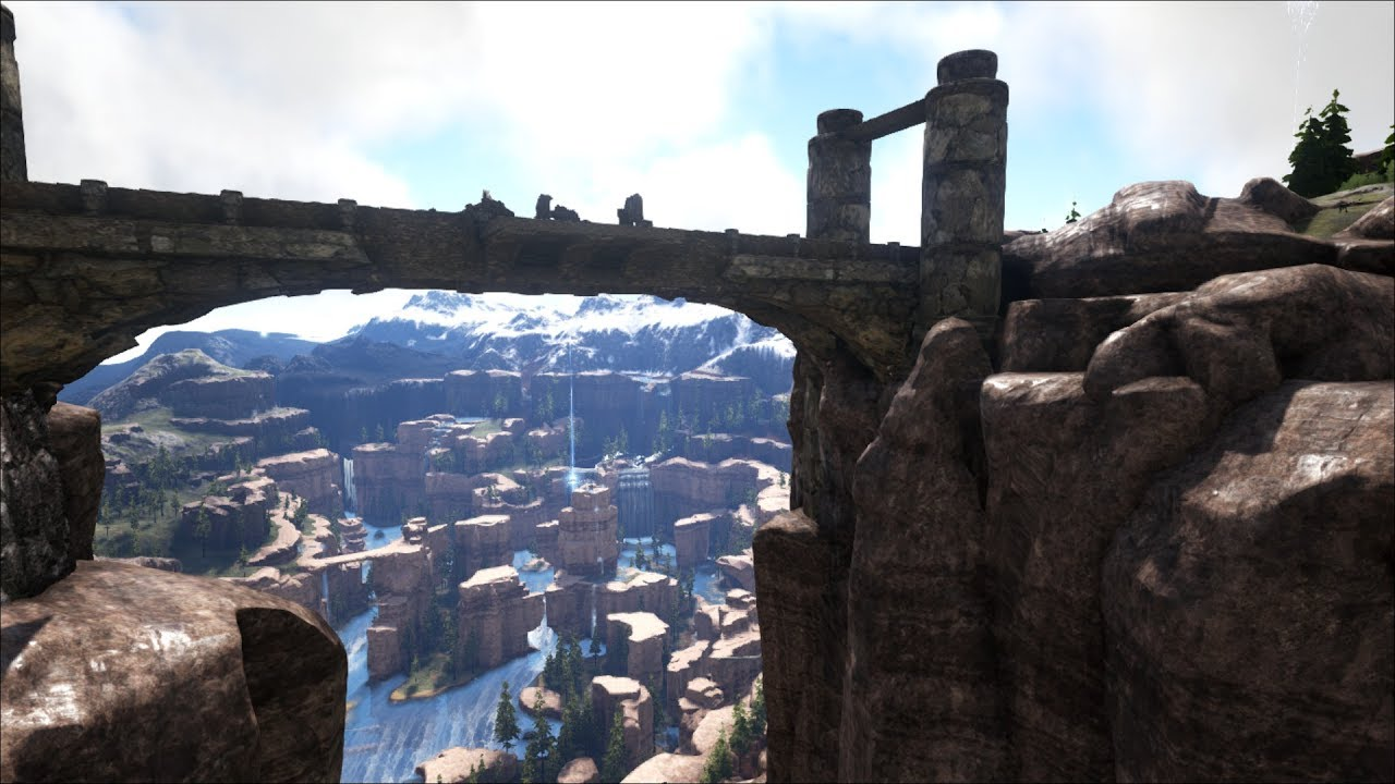 Ark The Island Map Base Locations