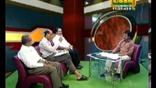 Americai V Narayanan discussed about AADHAR CARD in Makkal TV  on 12.10.2013