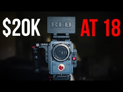 High School Kid Buys $20K Camera (RED Scarlet-W)