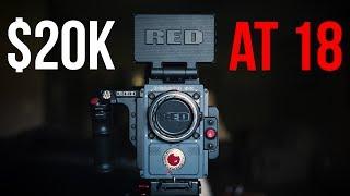 High Schooler Buys $20K Camera (RED Scarlet-W)