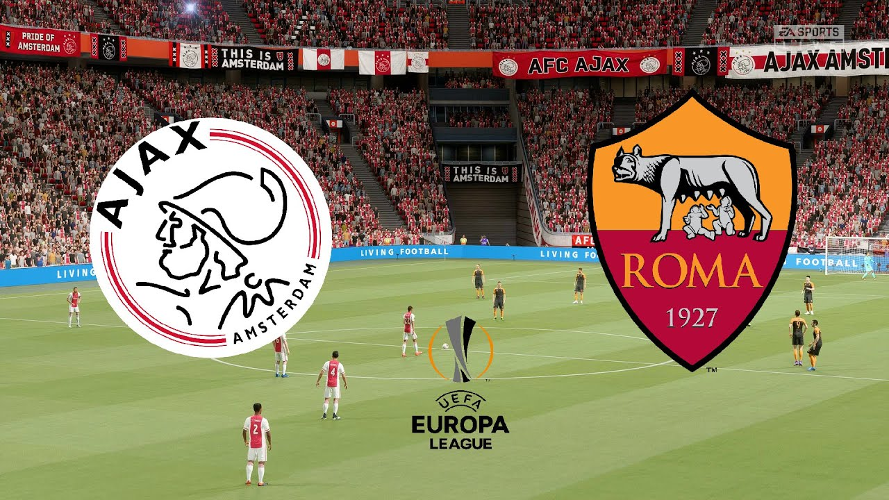 UEFA Europa League 2021 (Quarter Final) - Ajax Vs Roma - 1st Leg - 8th  April 2021 - FIFA 21 - YouTube
